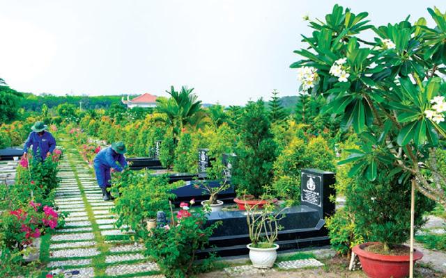 đầu tư bất động sản hoa viên nghĩa trang