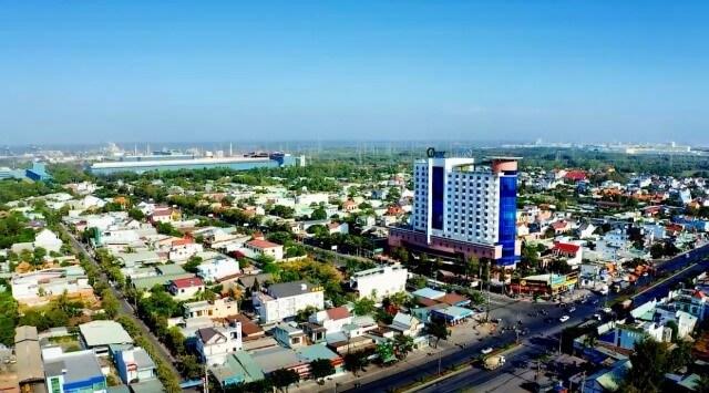 Thông tin quy hoạch Thị Xã Phú Mỹ
