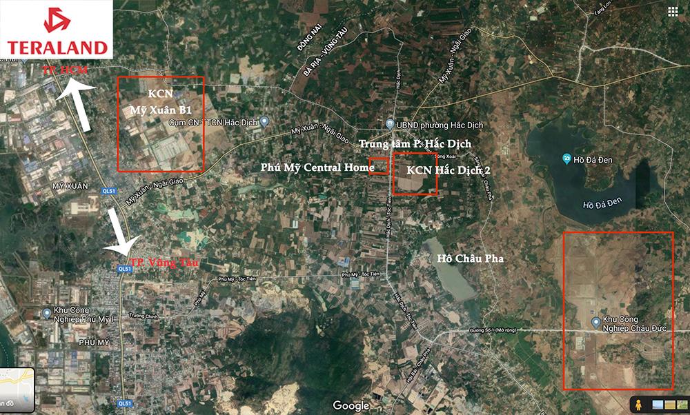 Bản đồ quy hoạch phường Mỹ Xuân