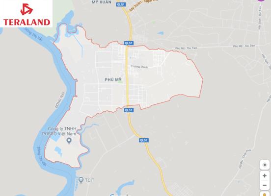 Xem chi tiết bản đồ quy hoạch phường Phú Mỹ