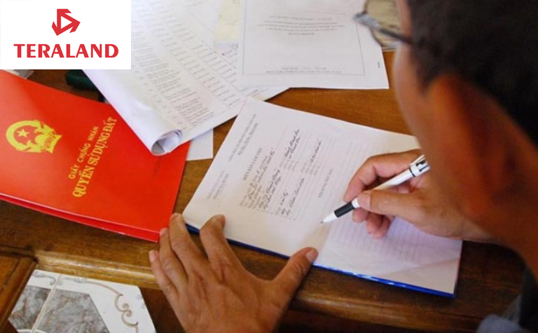 hợp đồng bán đất nền dự án